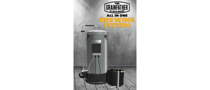Grainfather Connect kompaktbryggeri (30 liter) *Ny versjon med Bluetooth*